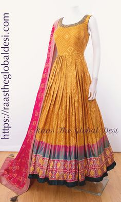 Shop your style Indian Gowns Dresses, Indian Fashion Dresses, Indian Designer Outfits, Indian Outfits, Stylish Dresses, Nice Dresses, Casual Dresses, Stylish Sarees, Fancy Dress Design
