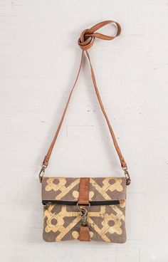 MOSAIC FOLD-OVER CROSSBODY - SMALL ACCESSORIES - UP-CYCLED HANDBAGS
