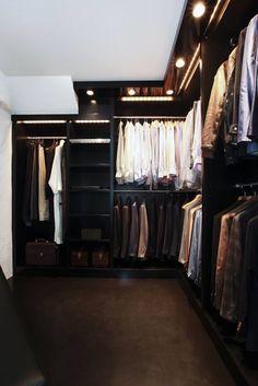 Mens Walk in Closet