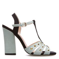Jeanie in mint and black. I like the chunky heel ... fun! http://www.shoedazzle.com/invite/l6ai37o5t