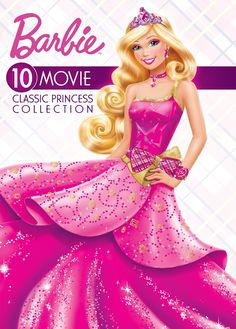 Shop Barbie: Classic Princess Collection [DVD] at Best Buy. Find low everyday prices and buy online for delivery or in-store pick-up. Princess Collection, Barbie Collection, Movie Collection, 10 Film, Rapunzel Barbie, Princess Charm School, Barbie And Her Sisters, Barbie Cartoon, Barbie Fairytopia