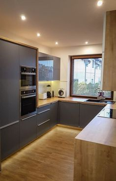 Kitchen Decor Ideas Apartment is categorically important for your home. Whether you pick the Color Ideas For Kitchen Walls or How To Decorate Kitchen Walls, you will create the best Paint Ideas For Kitchen Walls for your own life. Home Decor Kitchen, New Kitchen, Home Kitchens, Narrow Kitchen, Kitchen Mat, Kitchen Ideas, Modern Kitchen Design, Interior Design Kitchen, Rustic Cabinets