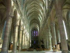 Cathédrale de Soissons Fort Mahon Plage, Saint Valery, Beauvais, Amiens, Château Fort, France, Gothic Art, Art And Architecture, Germany