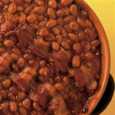 Cowboy Beans: A Southwestern favorite, these beans get a kick from McCormick Hot Shot!