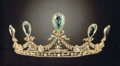 The Hesse Aquamarine Tiara once owned by Grand Duchess Elizabeth Feodorovna of Russia.