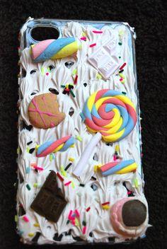 Candy  Deco Den IPhone 4 case via Etsy
