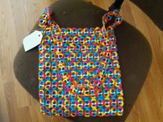 Hand made Soda pop-top/ tab purse Fruity Pebbles by BoutiqueANAI