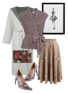 """""""coat"""" by masayuki4499 ❤ liked on Polyvore featuring Chicwish, Frontgate, CITYSHOP, Jacques Vert, MANGO and Penny Loves Kenny"""