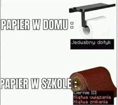 Polish Memes, School Memes, Wtf Funny, Bts Memes, Haha, I Am Awesome, Humor, Pug, Ha Ha