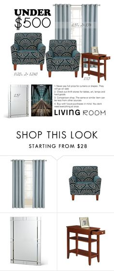 """""""Starting Well"""" by patricia-dimmick ❤ liked on Polyvore featuring interior, interiors, interior design, home, home decor, interior decorating, Convenience Concepts, livingroom and under500"""