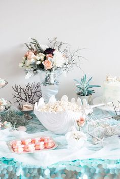 Majestic Under the Sea Birthday Party on Kara's Party Ideas | KarasPartyIdeas.com (29)