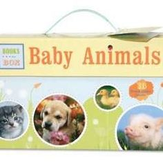 Baby Animals Books in a Box
