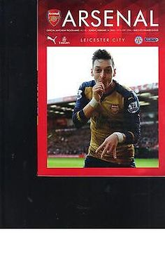 #Programme #arsenal v leicester city - premier league - #2015/16 season,  View more on the LINK: 	http://www.zeppy.io/product/gb/2/391685812671/