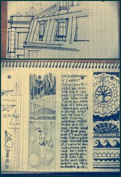 Sketch -ink and marker-