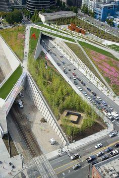 Olympic Sculpture Park of the Seattle Art Museum (http://www.weissmanfredi.com/project/seattle-art-museum-olympic-sculpture-park)