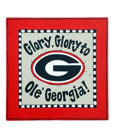 Take a look at this Georgia Canvas by Glory Haus on #zulily today!