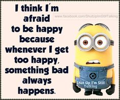 I Think I'm Afraid To Be Happy Pictures, Photos, and Images for Facebook, Tumblr, Pinterest, and Twitter