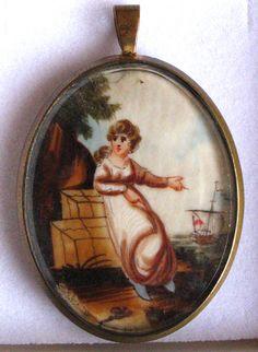 Mourning pendant......ca 1820