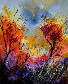 The brilliant colours of 'Autumn' by Pol Ledent