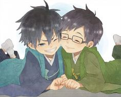 Ao no Exorcist | Blue Exorcist | Rin and Yukio