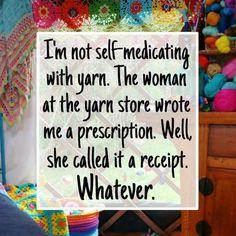 Yarn medication