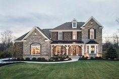 M/I Homes of Cincinnati: Carriage Hill - The Creeks – Avalon Model contemporary exterior