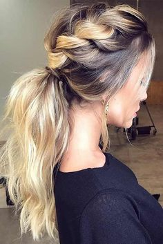 63 Amazing Braid Hairstyles for Party and Holidays ★ Braided Ponytail Ideas for This Winter Picture 6 ★ See more: http://glaminati.com/christmas-party-braid-hairstyles/ #christmashair #winterhair #braidhairstyle