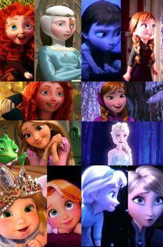 Our favorite disney princesses