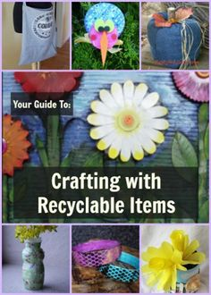 674 Recycled Crafts: Crafting with Recyclable Items | FaveCrafts.com