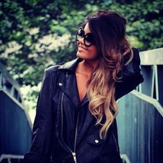 Ombre Hair Love the color WHEN MY HAIR IS LONG ENOUGH