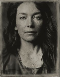 Julianne Nicholson. Tintype Portraits of Celebrities at the Sundance Film Festival. Victoria Will