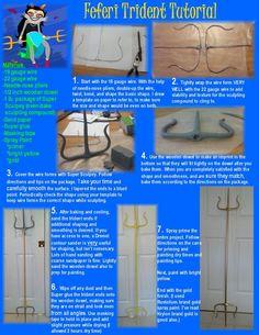 Feferi Trident Tutorial by lishlitz.deviantart.com on @deviantART