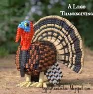 A Lego Thanksgiving - This Thanksgiving, instead of making hand-print turkeys again, why not mix it up with some Legos?  Read on for some fun and new ideas...and for a surprise at the end!   A Lego for Every Holiday!