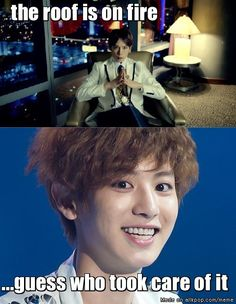 OMOMOMO my exo bias & B.A.P bias! ^^ Chanyeol's face too funny! Lol xD... | allkpop Meme Center