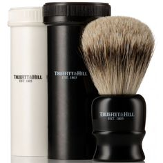 Tube Traveller Shave Brush by Truefitt and Hill. Get yours now for $170.00 SGD! #naiise #truefittandhill