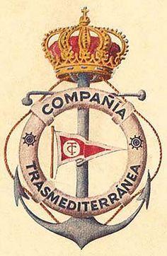 COMPAÑÍA TRASMEDITERRÁNEA, escudo 1916