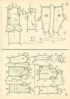Vintage Sewing Patterns 86 autumn 1962  Patternmaking