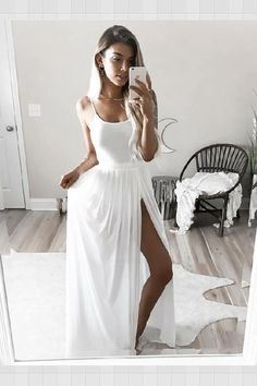 Plus Size Prom Dress, Simple white long prom dress,white evening dress Shop plus-sized prom dresses for curvy figures and plus-size party dresses. Ball gowns for prom in plus sizes and short plus-sized prom dresses Wite Prom Dresses, Straps Prom Dresses, Elegant Bridesmaid Dresses, A Line Prom Dresses, Tulle Prom Dress, Cheap Prom Dresses, Chiffon Dress, Homecoming Dresses, Evening Dresses