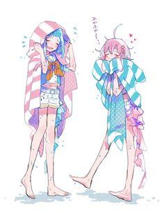 Anime Girl, blanket