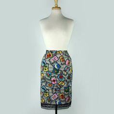 Strapless Retro Dress | Mexican Paple Picado Dress | Vintage Galeria | Vintage Galeria