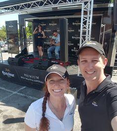 Hanging with Country Music Star @kelleighbannen today. She might be my new girl crush.  #suckitupfitness #countrymusic #tourlife