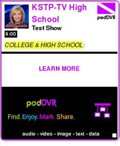 #COLLEGE #PODCAST  KSTP-TV High School Sportswrap Video Podcast    Test Show    LISTEN...  http://podDVR.COM/?c=a1311a95-f066-13aa-a8a7-a05600370da3
