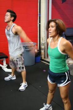 Chelsea crossfit workout.