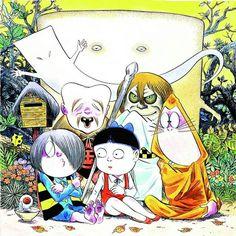 ่(ゲゲゲの鬼太郎) เกะเกะเกะ โนะ คิทาโร่ เริ่มเขียนขึ้นในปี 1959 โดย Shigeru Mizuki
