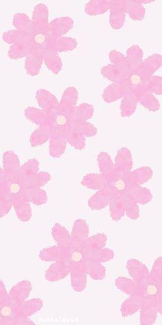 Cute Pink Daisy Wallpaper and Lockscreen