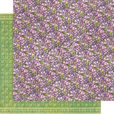 G45 Fairie Dust Single Sheet / Violet Vale - PREORDER SHIPPING THE END OF NOVEMBER