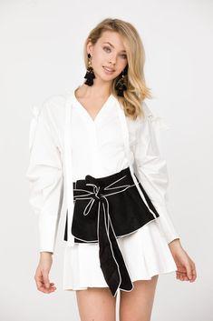 46d732625282 Pellegrino White Dress. Haute Rogue