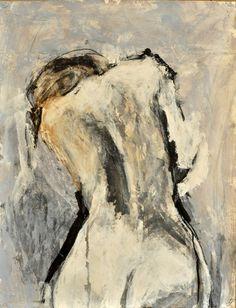 Geoffrey Stein - Black study . 2011 (pencil, charcoal,ink gesso, acrylic on paper )