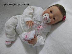 Bebê reborn Maria Rafaela-sob encomenda | Mamãe Bebê Reborn | Elo7