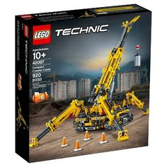 Shop LEGO Technic Compact Crawler Crane 42097 at Best Buy. Find low everyday prices and buy online for delivery or in-store pick-up. Lego Duplo, Lego Ninjago, Lego Technic Sets, Lego Shop, Buy Lego, Lego Disney, Bugatti, Technique Lego, Toy Crane